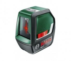 Лазерен нивелир BOSCH - PLL 2 - 640 nm, ± 0.5 мм./м., 10 м.