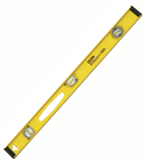 Алуминиев нивелир STANLEY - 1-42-921 - 800 мм., 1,5 мм./1 м.