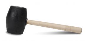 Гумен чук с дървена дръжка RUBI - 0,500 кг. / 65905 /