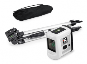 Лазерен нивелир KAPRO - 862G Prolaser - 20 м., 0,4 мм./1 м.