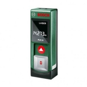 Лазерна ролетка BOSCH - PLR 15 - 635 nm, 0.05-15 м.