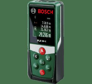 Лазерна ролетка BOSCH - PLR 30C - 635 nm, 0.05-30 м. / Bluetooth /