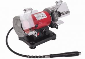Шмиргел RAIDER - RD-BG06 - 120 W, 0-9900 оборота, 75x10x20 мм.