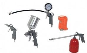 Комплект инструменти за сгъстен въздух RAIDER - / 5 ч. /