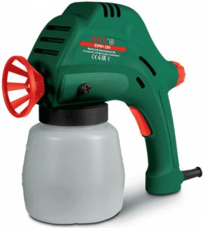 Електрическа машина за боя DWT - ESP 01-250 - 80 W, 800 мл., 50-250 мл./мин1, 140 bar, 0,8 мм.