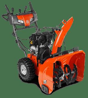 Моторен снегорин HUSQVARNA - ST 224 - 4,7 kW, 208 см3, 3600 оборота, 61 см., 2,6 л.
