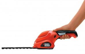 Акумулаторна ножица за трева и храсти BLACK&DECKER - GSL300 - Li-ion, 3,6 V, 1,1 Ah, 150 мм.