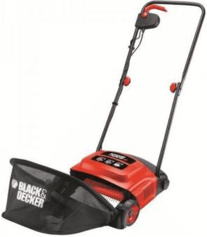 Електрическо градинско гребло BLACK&DECKER - GD300 - 600 W, 30 л., 300 мм.