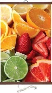 Настенен инфрачервен нагревател ПИОН - Плодове - 400 W