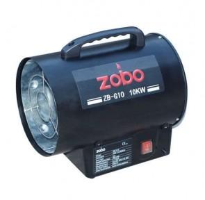 Газов калорифер ZOBO - ZB-G10 - 10 kW, 300 м3/ч., 310 mbar, 710 мл./ч.