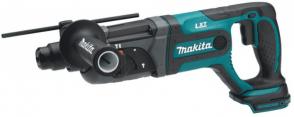 Акумулаторен перфоратор MAKITA - DHR241Z - Li-ion, 18 V, 0-1100 оборота, 0-4000 уддара, 2,0 J, SDS+ / без батерия /