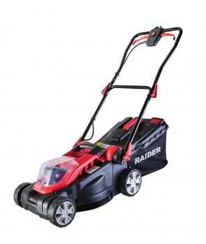 Акумулаторна косачка RAIDER RDP-SLM20/ 20 V, 360 mm, 35 L, без батерия и зарядно устройство/