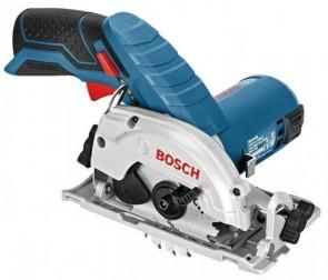 Акумулаторен ръчен циркуляр BOSCH - GKS 10,8 V-LI - Li-ion, 10,8 V, 1400 оборота, 85x15 мм. / без батерия и зарядно /