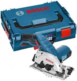 Акумулаторен ръчен циркуляр BOSCH - GKS 10,8 V-LI - 10,8 V, 2,0 Ah, 1400 оборота, 85x15 мм. / 2 x 2,0Ah L-Boxx /
