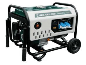 Монофазен бензинов генератор AYERBE - Ɛner-Gen 3000 KT MN - 230 V, 2500 W, 3000 оборота, 15 л. / ръчно стартиране /