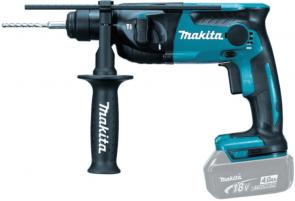 Акумулаторен перфоратор MAKITA - DHR165Z - Li-ion, 18 V, 0-1600 оборота, 5300 удара, 24/16/13 мм., 1,3 J, SDS+ / без батерия /