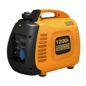 Инверторен монофазен бензинов генератор AYERBE - 1200 INS Inv - 230 V, 1,0 kW, 3000 оборота, 2,1 л. / ръчно стартиране /
