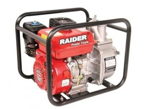Водна помпа бензинова RAIDER - RD-GWP01 - 4.1 kW, 196 см3, 3600 оборота, 550 л./мин1, 10 bar