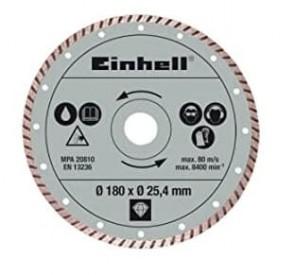 Диамантен диск за машина за рязане на фаянс и теракот EINHELL - TC-TC 618 и TC-TC 800 - Ø 180x25,4 мм. / 4301176 /
