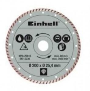 Диамантен диск за радиален циркуляр за рязане на фаянс и теракот EINHELL - TE-TC 620 U - Ø 200x25,4 мм.