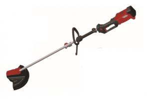 Акумулаторна безчеткова коса с сгъваема корда и нож RAIDER - RDP-SBBC Set - 20 V, Li-ion, 2,0 Ah, 255/300 мм.