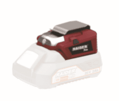 Адаптор с USB лампа RAIDER - RDP-R20 System - 20 V, Li-Ion / Без батерия и зарядно устройство /