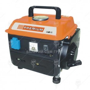 Бензинов генератор PREMIUM - GGT07 - 600/750 W, 63 см3, 12V / 8A