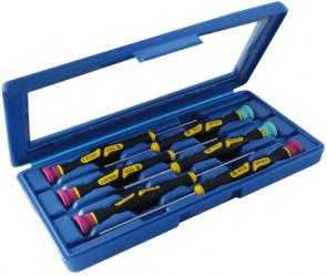 Отвертки за фина механика комплект NAREX BYSTRICE - 8626 Micro - 6 бр.