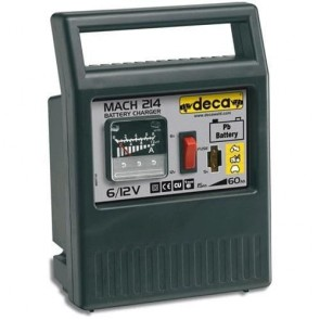 Зарядно устройство за акумулатор DECA - Mach 214 - 50 W, 6-12 V, 15-60 Ah, 4 A