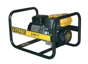 Монофазен бензинов генератор AYERBE - 3100 KT MN Electrique - 230 V, 2,3 kW, 3000 оборота, 3,6 л. / електрическо стартиране /