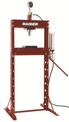 Хидравлична преса с манометър RAIDER - RD-HP05 - 20 т.