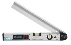 Дигитален ъглометър FERVI - G008 - 0-225°, 400  мм.