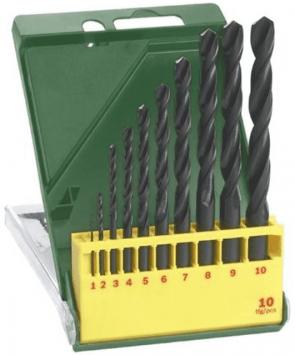 Свредла за метал BOSCH - 2607019442 - HSS-R, 1,0-10 мм., цилиндрична / 10 бр. /