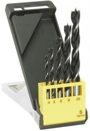 Свредла за дърво BOSCH - 2607019440 - CV, 4,0-10 мм., цилиндрична / 5 бр. /