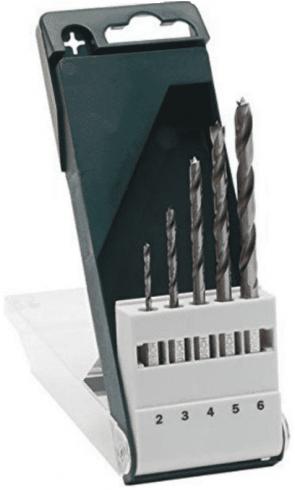 Свредла за дърво BOSCH - 2609255326 - CV, 4,0-6,0 мм., 6-стен / 5 бр. /