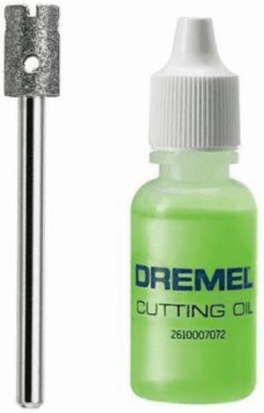 Свредло диамантено за стъкло DREMEL - Glass 663 - ф 6,4/45/10 мм.