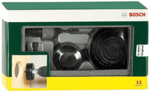 Боркорони за дърво BOSCH - 2607019450 - 22-68 мм. / 11 ч. /