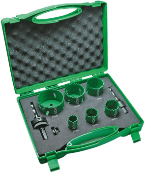 Боркорони за метал HITACHI - 752172 - HSS-Bi-Metal, 22-64 мм. / 8 ч. /