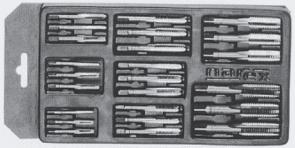 Метчици комплект BUCOVICE TOOLS - 320 120 - CS, М3,0-12,0 мм., MINI-2L
