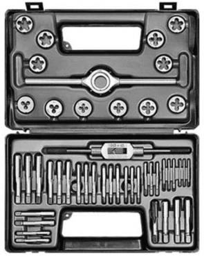 Метчици и плашки с върток комплект BUCOVICE TOOLS - 310 121 - CS, М3-12, M1-QS