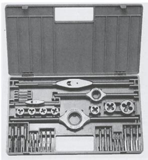 Метчици и плашки с върток комплект BUCOVICE TOOLS - 340 120 - HSS, М3-12, MI-II
