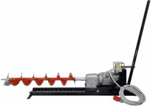 Моторен хоризонтален EUROKOMAX - Earth drill 400V - 2,2 kW, 10-15 м., 250 мм.