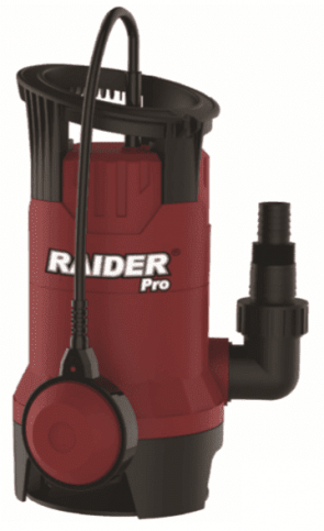 "Потопяема помпа за мръсна вода RAIDER - RDP-WP42 - 400 W, 7500 л./ч., 7/5 м., 1"""