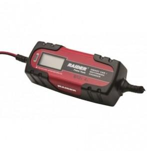 Инвертотно зарядно за акумулатори RAIDER - RD-BC13 - 230 V AC, 6/12 V, 1-4 A