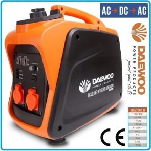 Инверторен генератор DAEWOO - GIDA 2000SI - 2000 W, 99 см3, 4,1/0,75 л.