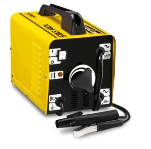 Заваръчен апарат DECA - STAR 140 E - 100 A, 230 V,1.6-2.5 мм+ Електроди рутилови Deca 2.00 мм, кутия 4.45 кг