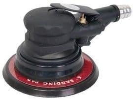 Пневматичен ексцентричен шлайф RAIDER - RD-AROS01 - 0,62 MPa, 10000 оборота, ф 150 мм., 79,2 л./мин1
