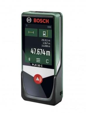 Лазерна ролетка Bosch PLR 50 C / 50 m /