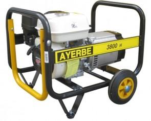 Монофазен бензинов генератор AYERBE - 3800 H MN - 230 V, 3,0 kW, 3000 оборота, 3,6 л. / ръчно стартиране /