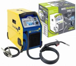 Инверторно телеподаващо GYS - Smartmig 142 - 40-140 A, 0,6-0,8 мм.